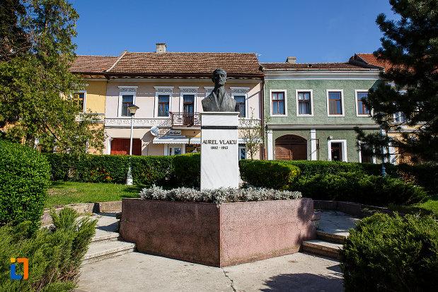 piata-victoriei-si-bustul-lui-aurel-vlaicu-din-orastie-judetul-hunedoara.jpg