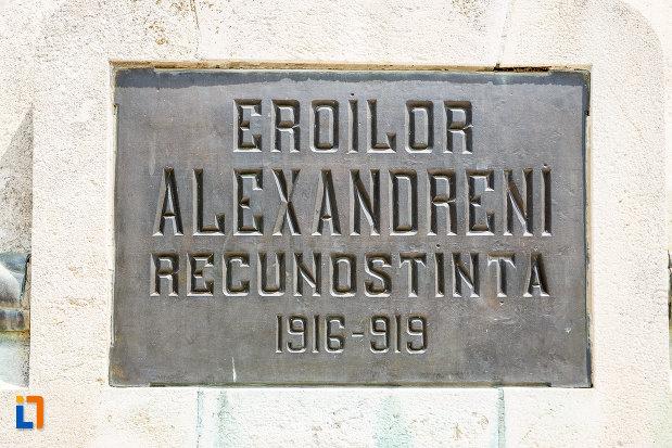 placuta-cu-mesaj-de-pe-monumentul-eroilor-cazuti-in-primul-razboi-mondial-din-alexandria-judetul-teleorman.jpg