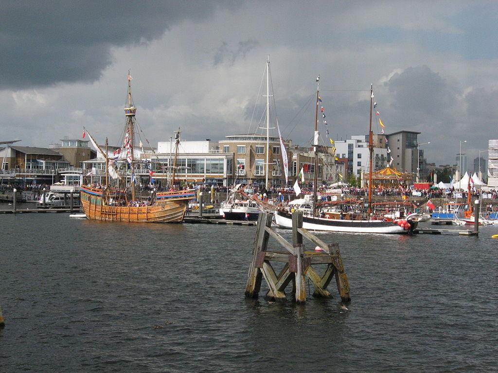 portul din Cardiff