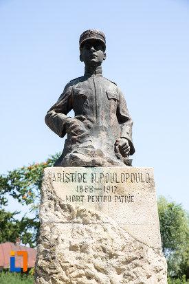 poza-cu-bustul-lui-aristide-n-poulopoulo-din-giurgiu-judetul-giurgiu.jpg