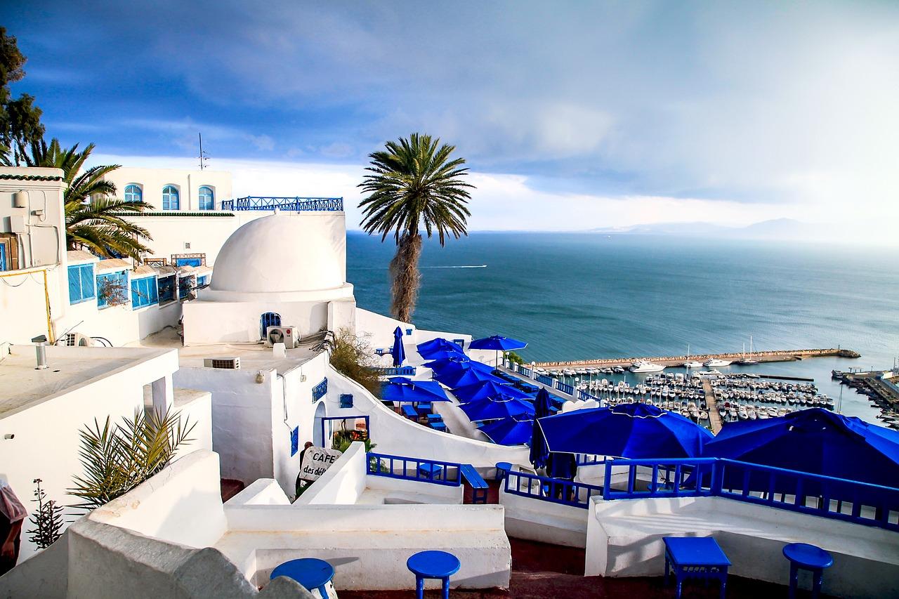 sea coast Tunisia