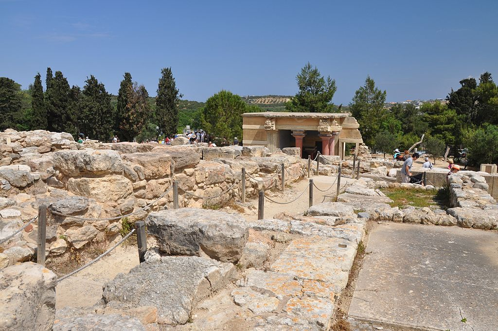 sit arheologic Knossos