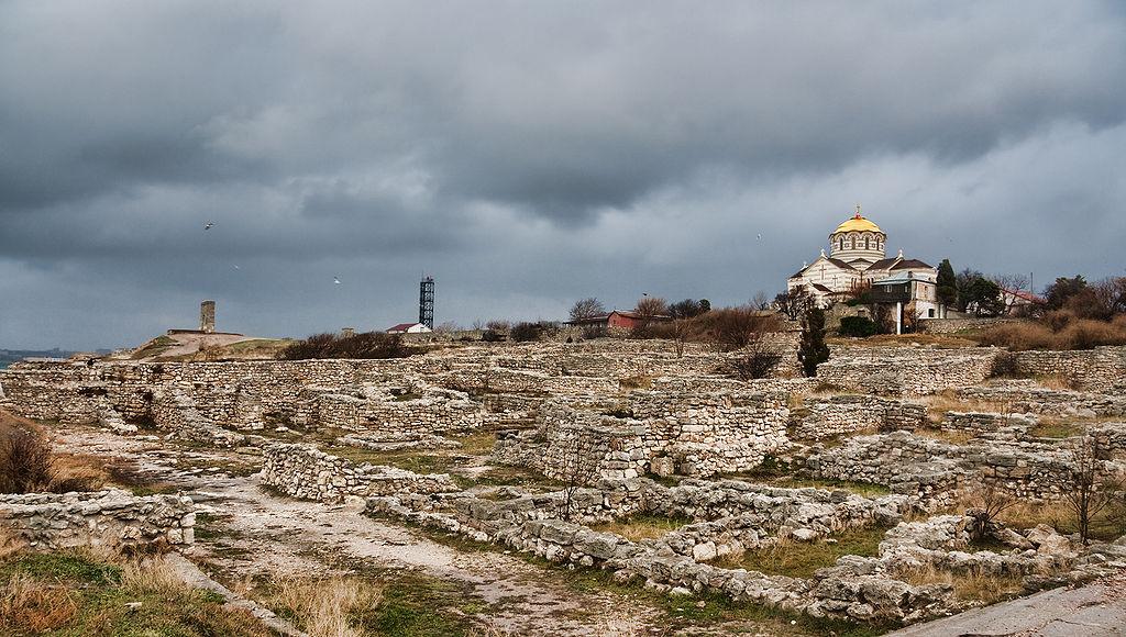 situl arheologic al orașului antic Chersonesos