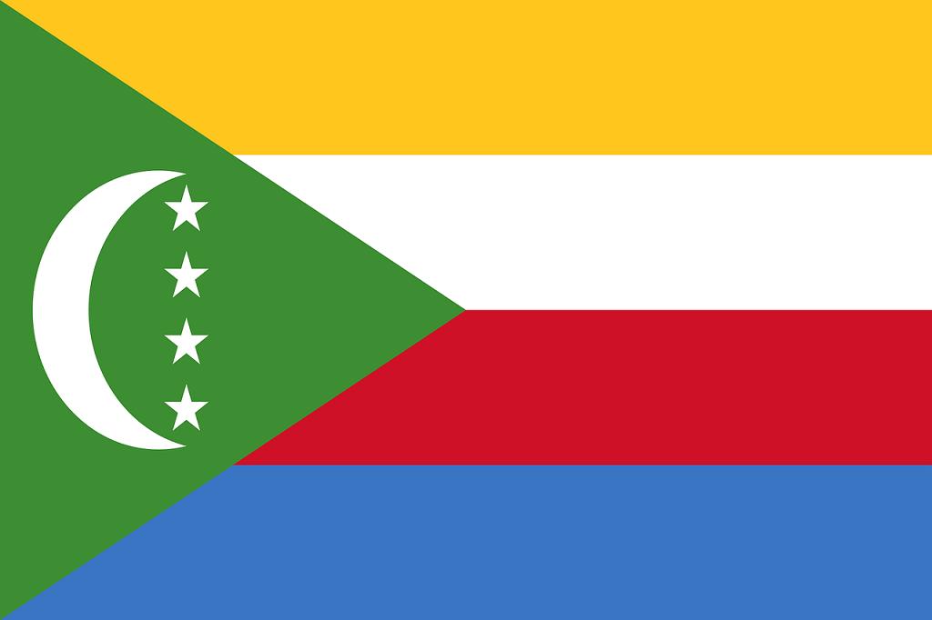 steag insulele Comore