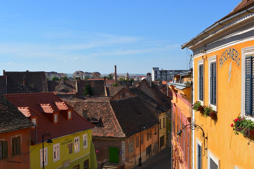 strazi din Sibiu