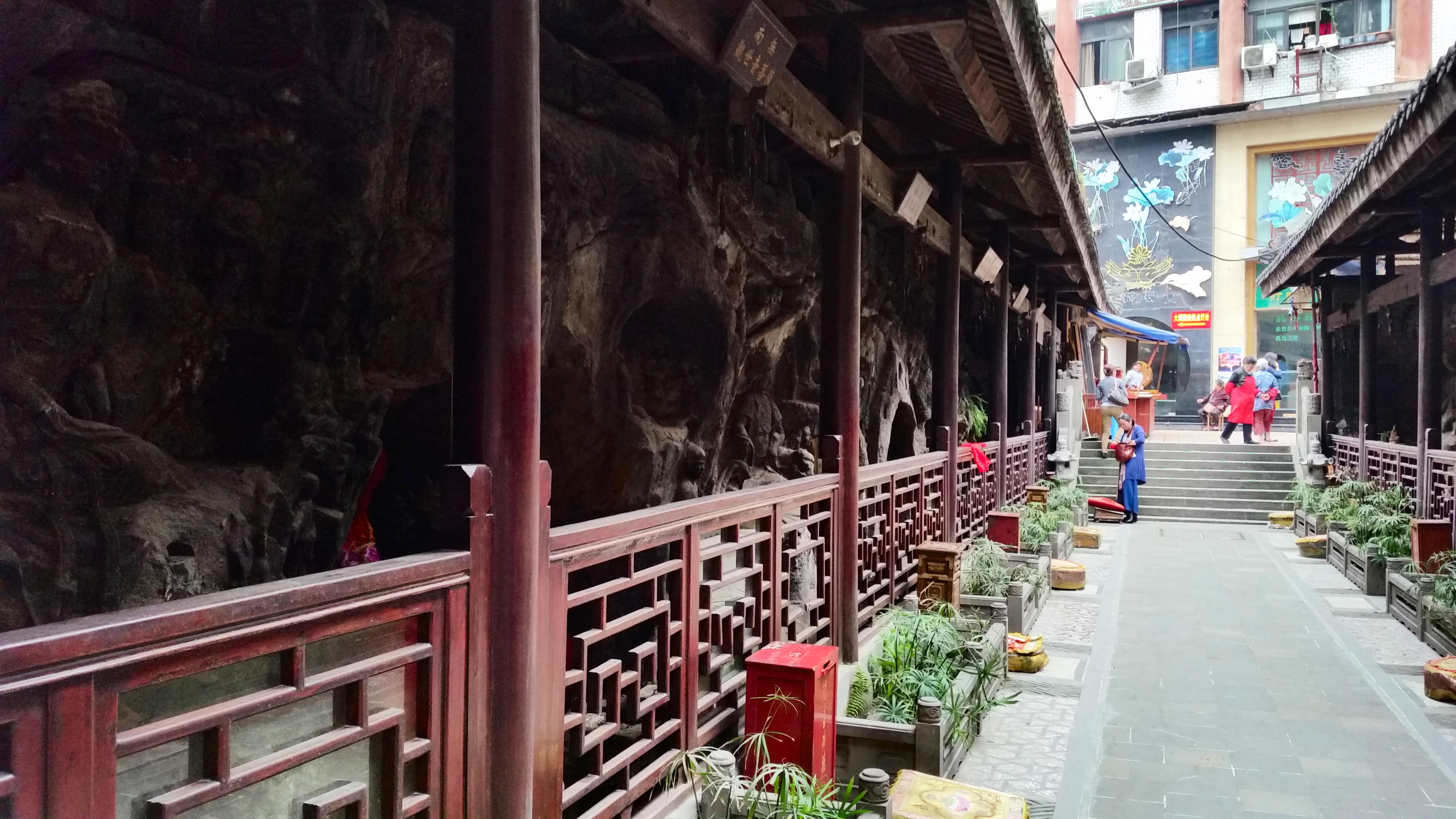 templul Luohan SI Arhat