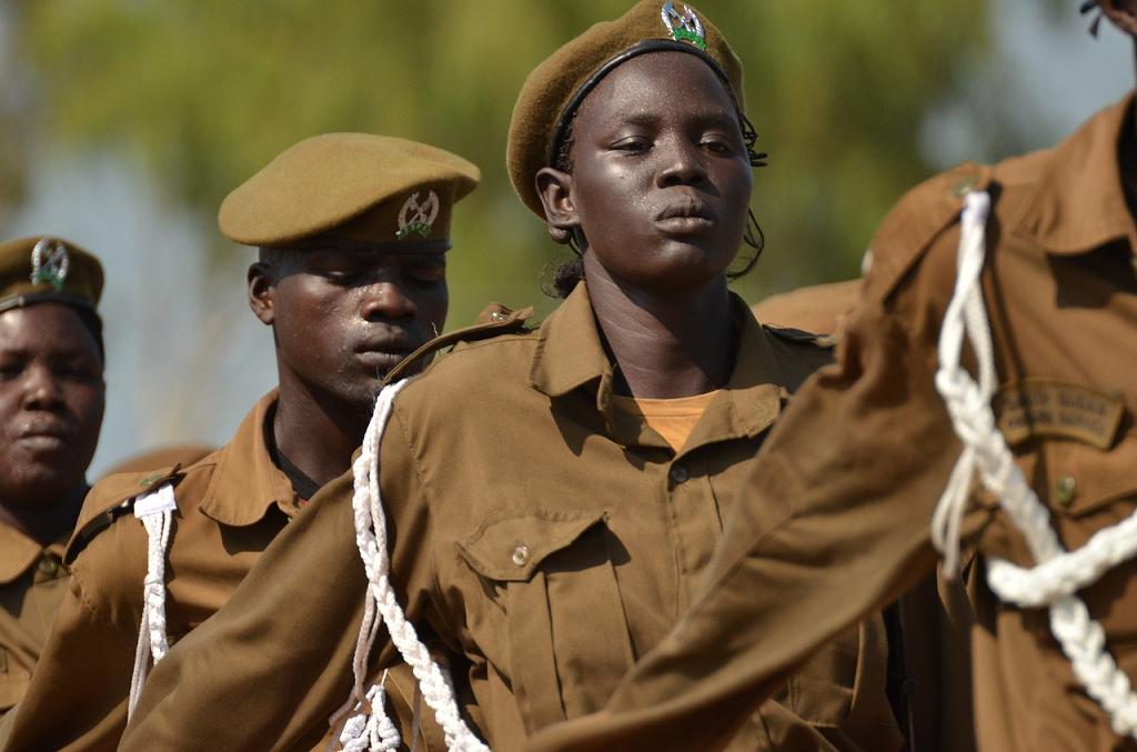 trupe din Sudan