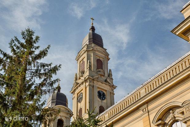 vedere-spre-turnurile-de-la-biserica-romano-catolica-coborarea-sfantului-duh-din-oradea-judetul-bihor.jpg