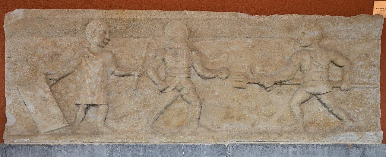 Luptele dintre gladiatori1