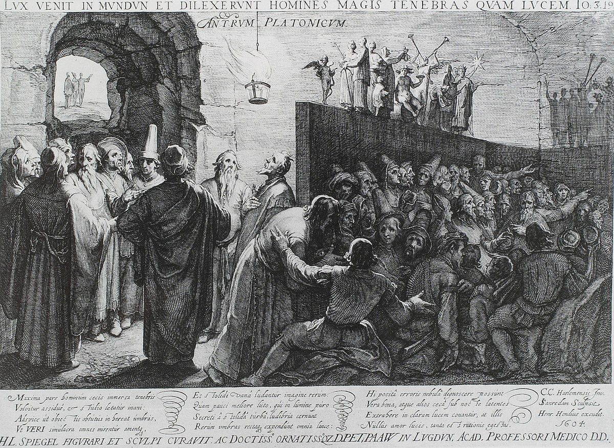 Mitul pesterii, alegoria lui Platon