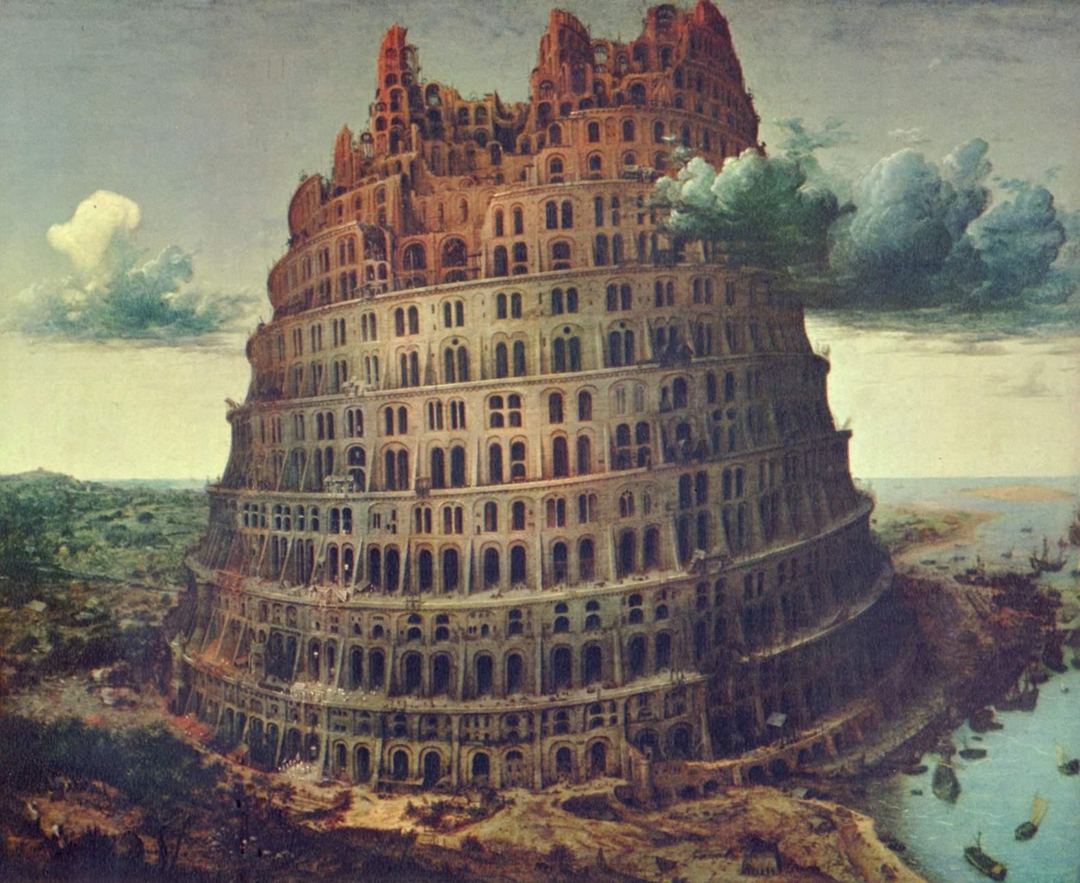 Turnul Babel, pictura de Pieter Bruegel