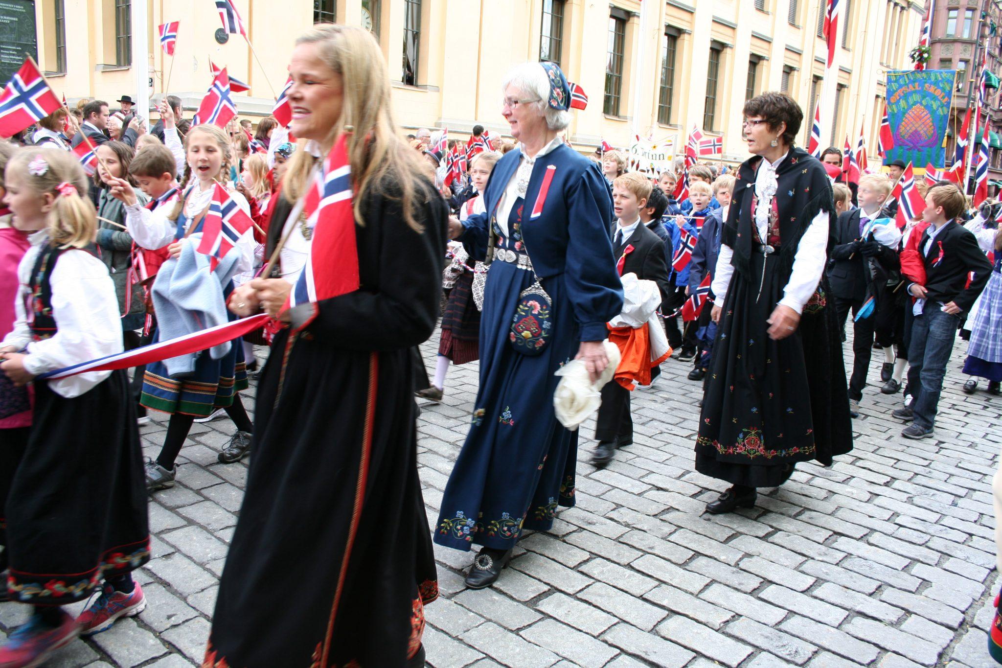 Sarbatorirea Zilei Nationale a Norvegiei, cea mai fericita tara din lume