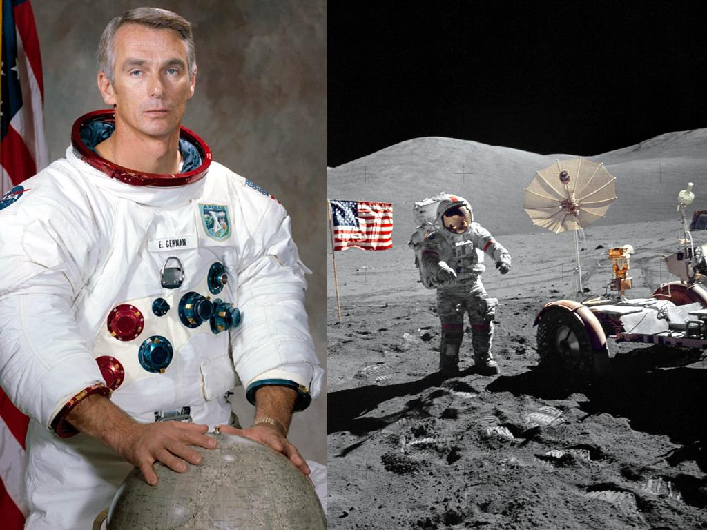 Eugene Cernan, ultimul om care a fost pe Luna