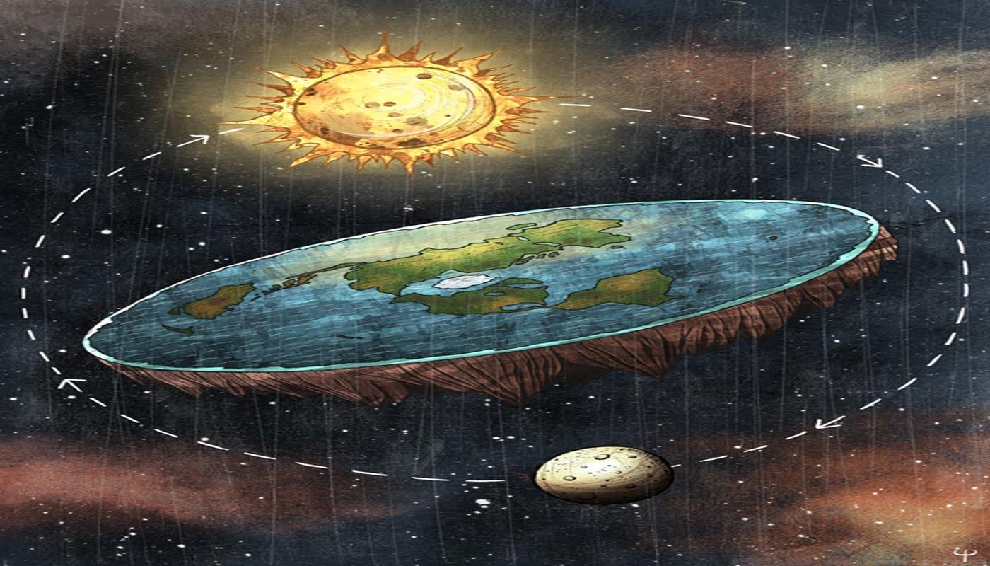 Teoria Pamantului plat si zeteticii