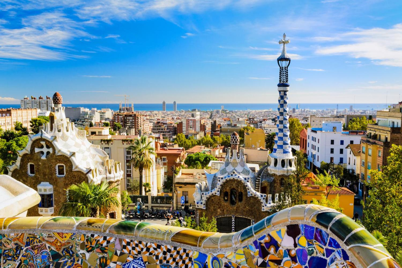 Barcelona, Gaudi Park