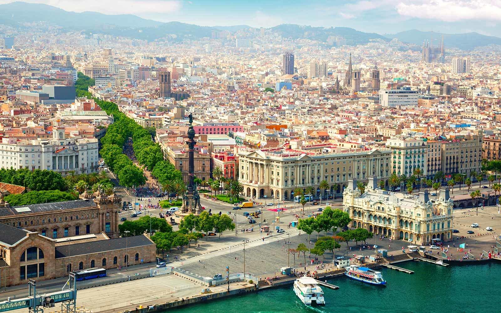 Barcelona, capitala Cataloniei