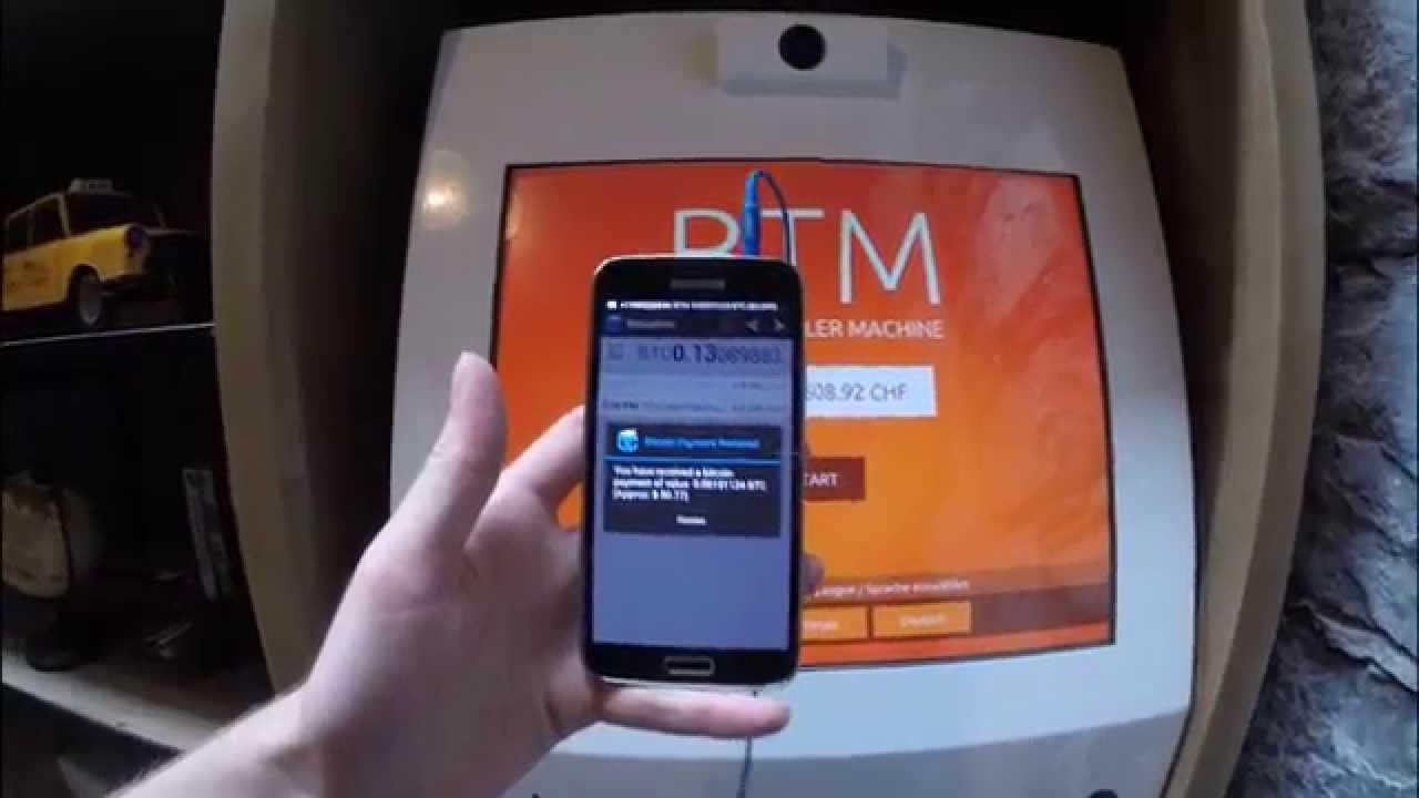Bitcoin -BTC, ATM