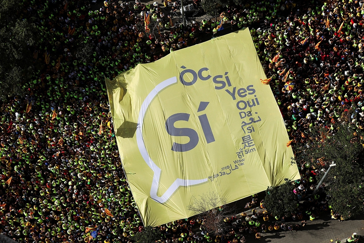 Catalonia, Ziua Nationala, Diada Nacional de Catalunya, Diada de Si