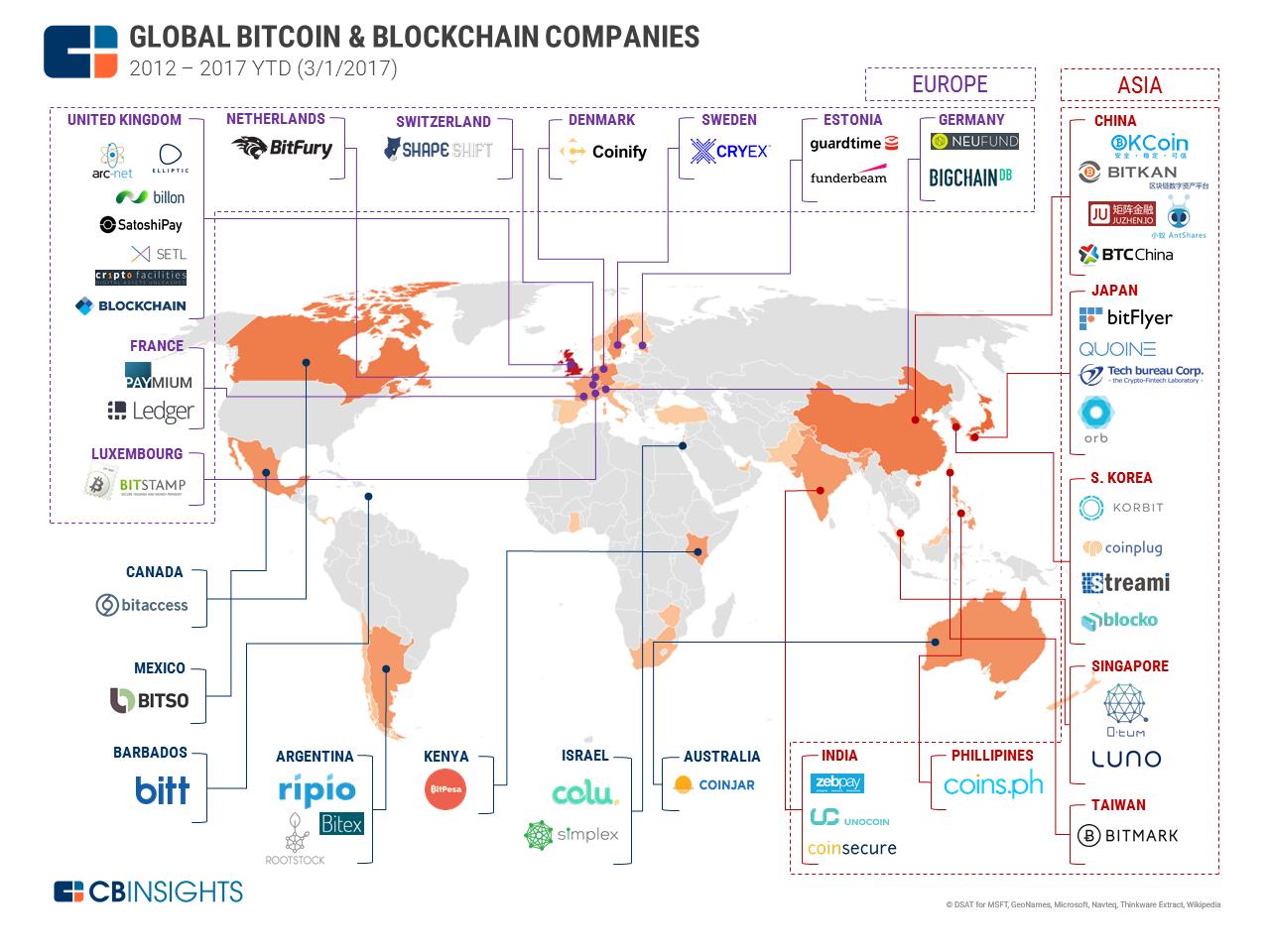 bitcoin hartă acceptată