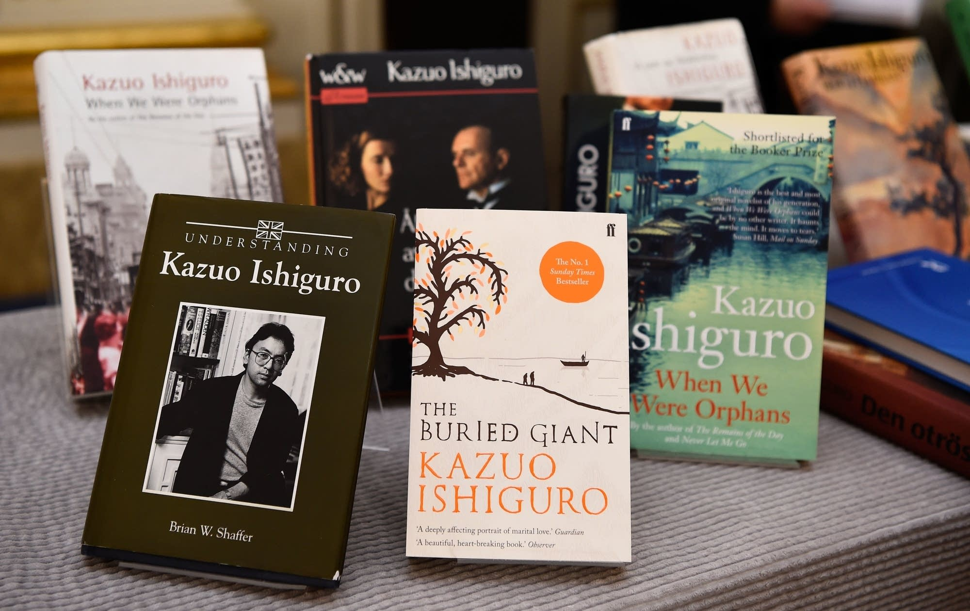 Kazuo Ishiguro, romane