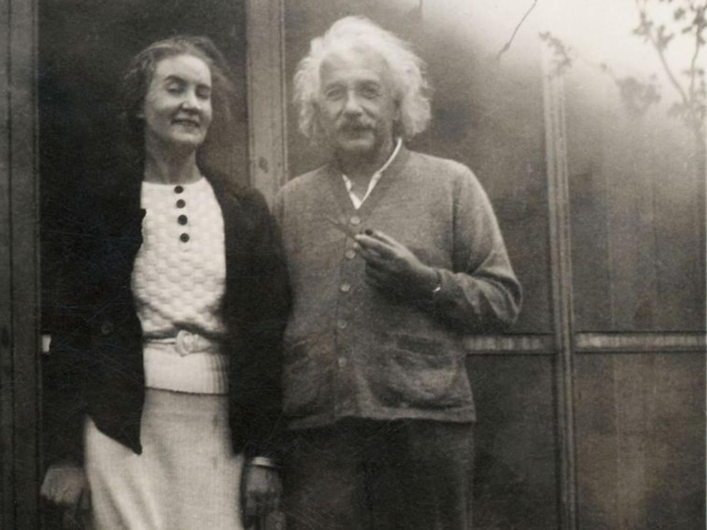 Einstein si Margarita Konenkova