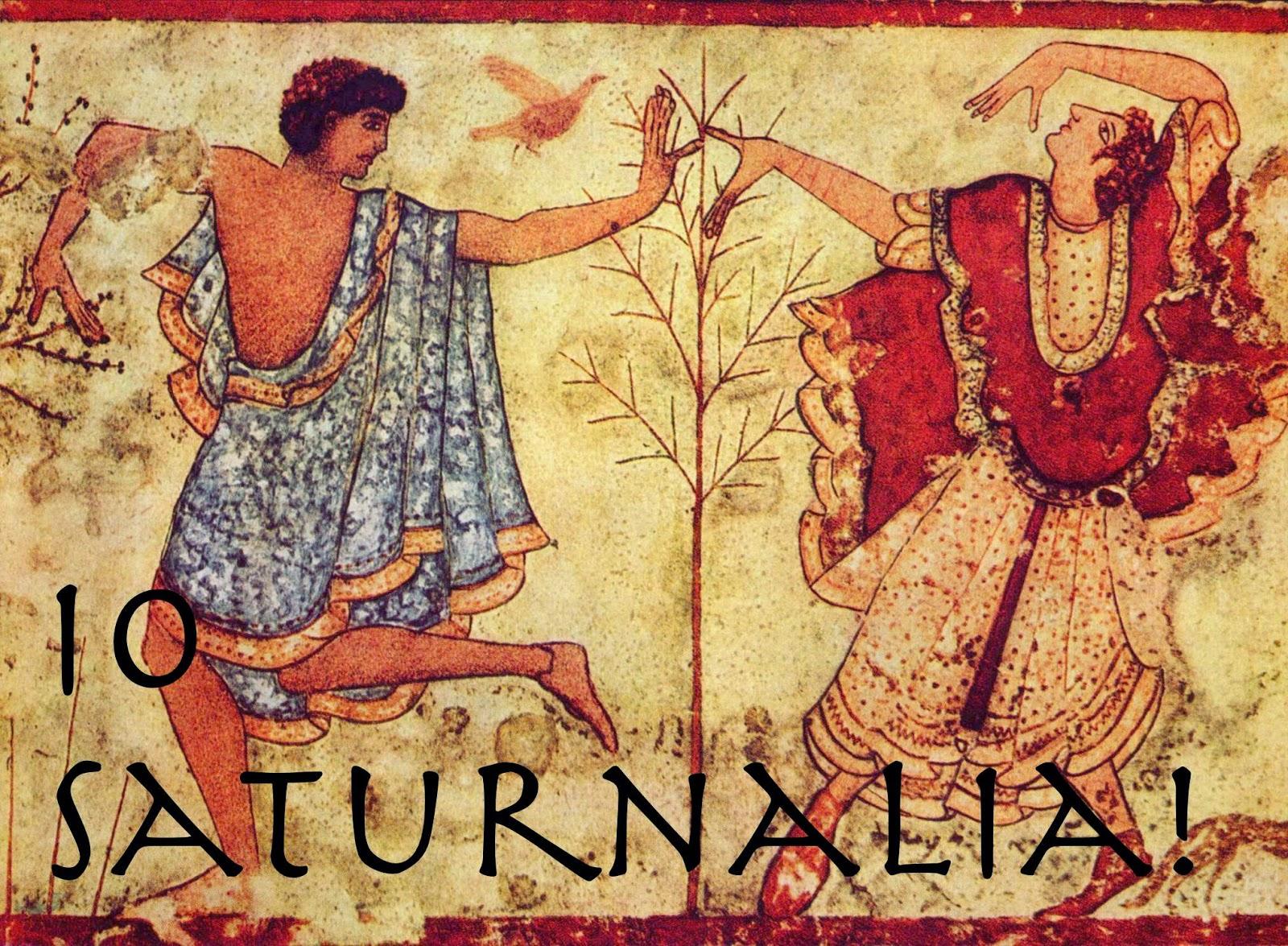 Anul Nou si Saturnaliile