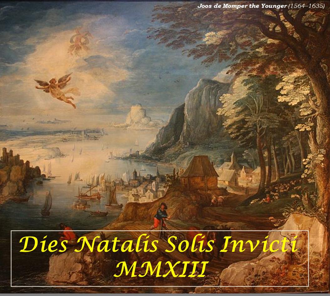 Crăciunul în mitologie, filosofie, religie - Dies natales Solis Invicti