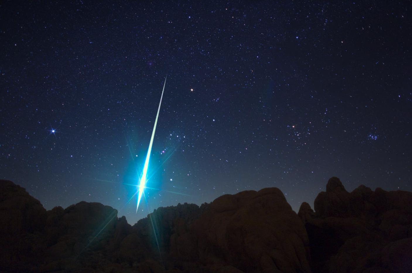 Geminidele, ploaia de meteoriti din decembrie