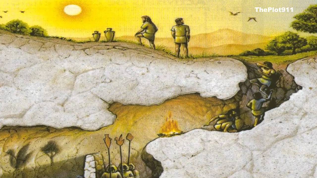 Paradoxul lui Platon, Mitul cavernei