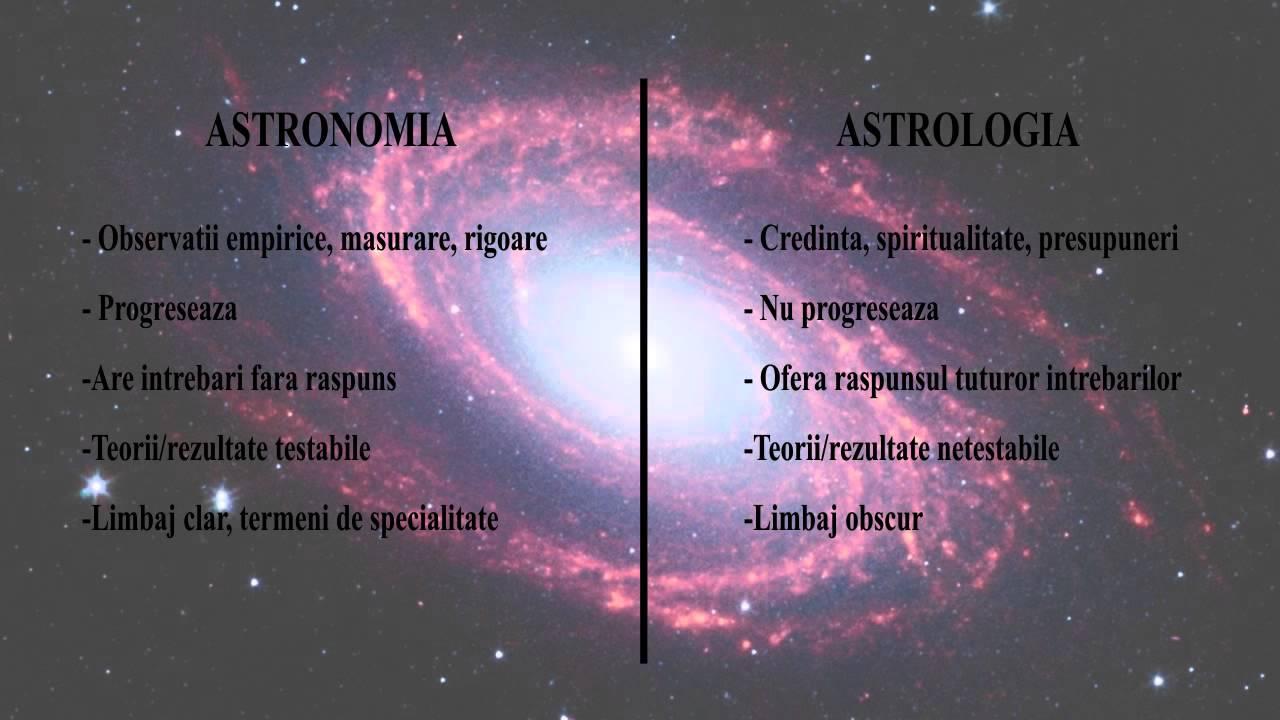 Astronomie si astrologie
