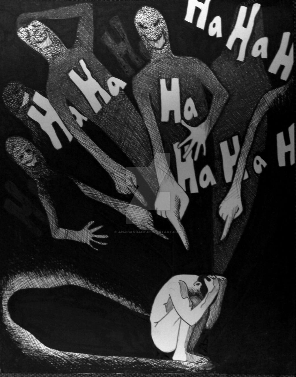 Katagelofobia
