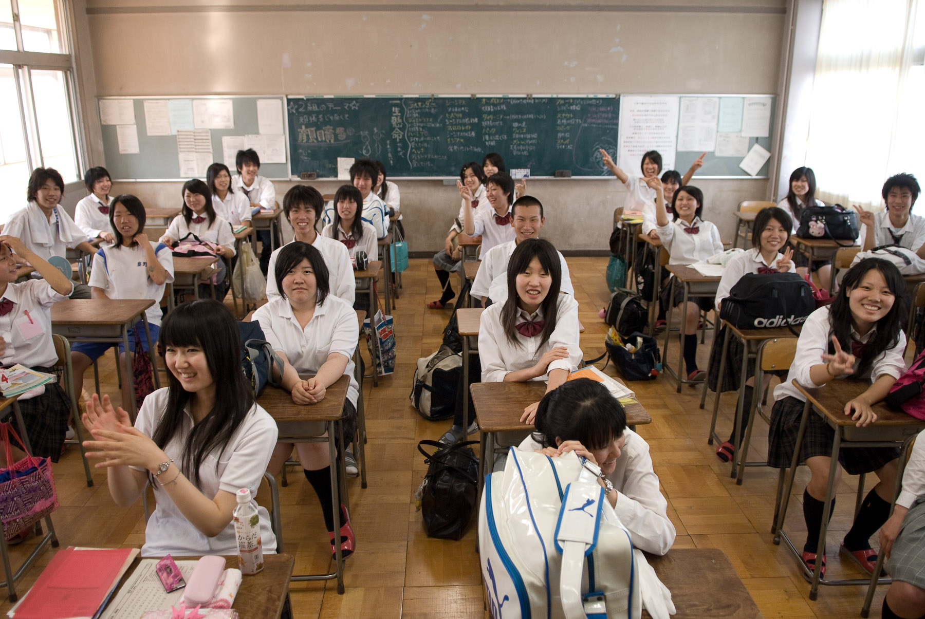 Sistemele de învăţământ performante, Scoala in Japonia