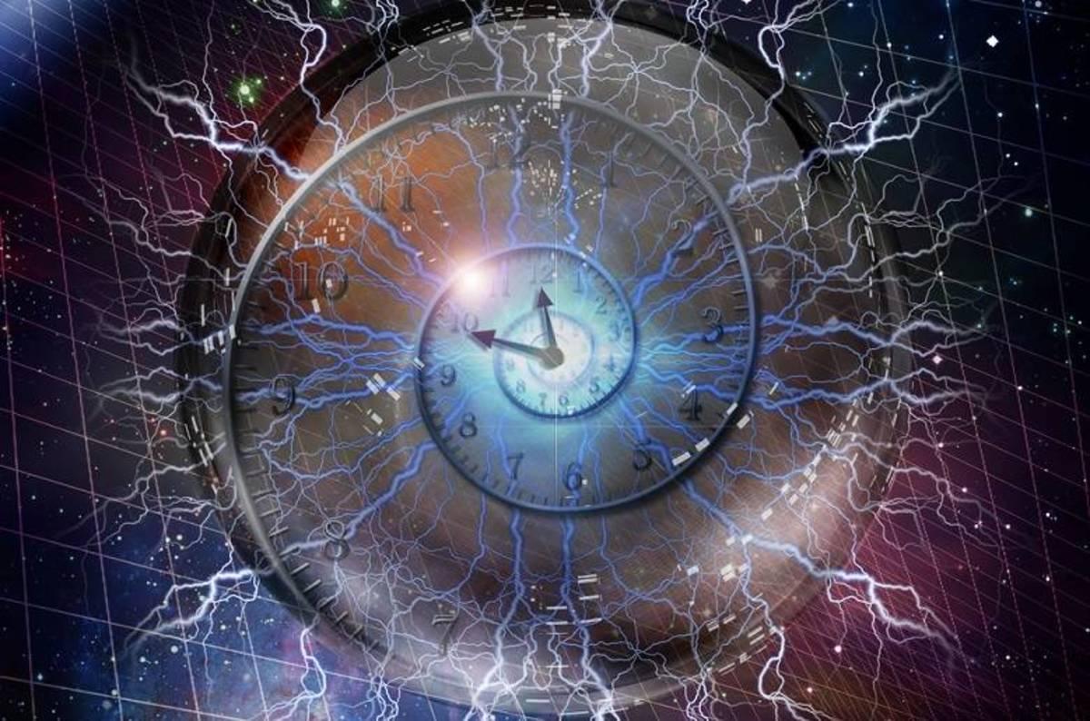 Cristalul temporal - Formarea spontană a unui cristal temporal corespunde apariţiei spontane a unui ceas
