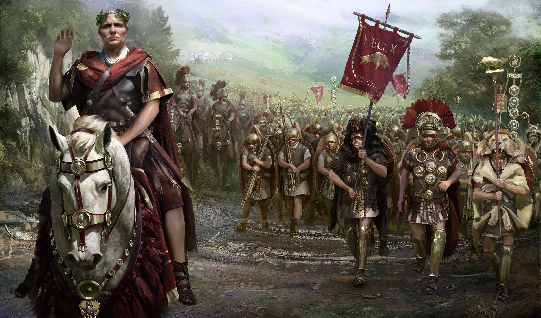 Iulius Cezar, Alea iacta est, Zarurile au fost aruncate