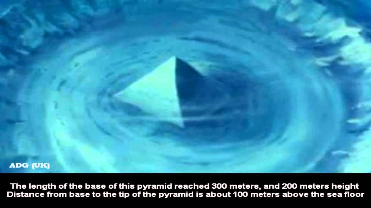 Piramide de cristal in Triunghiul Bermudelor