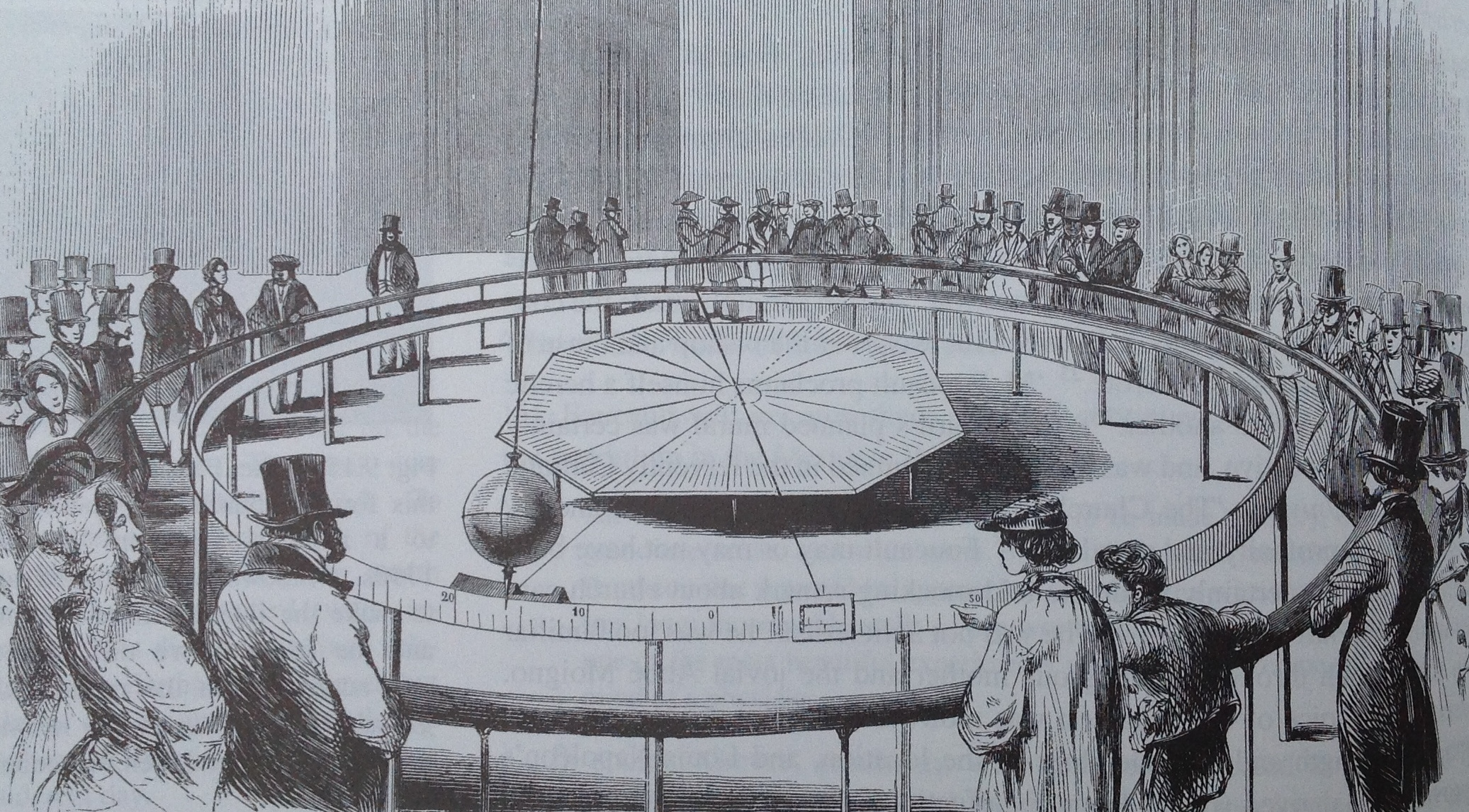 Pendulul lui Foucault, Paris, 1851