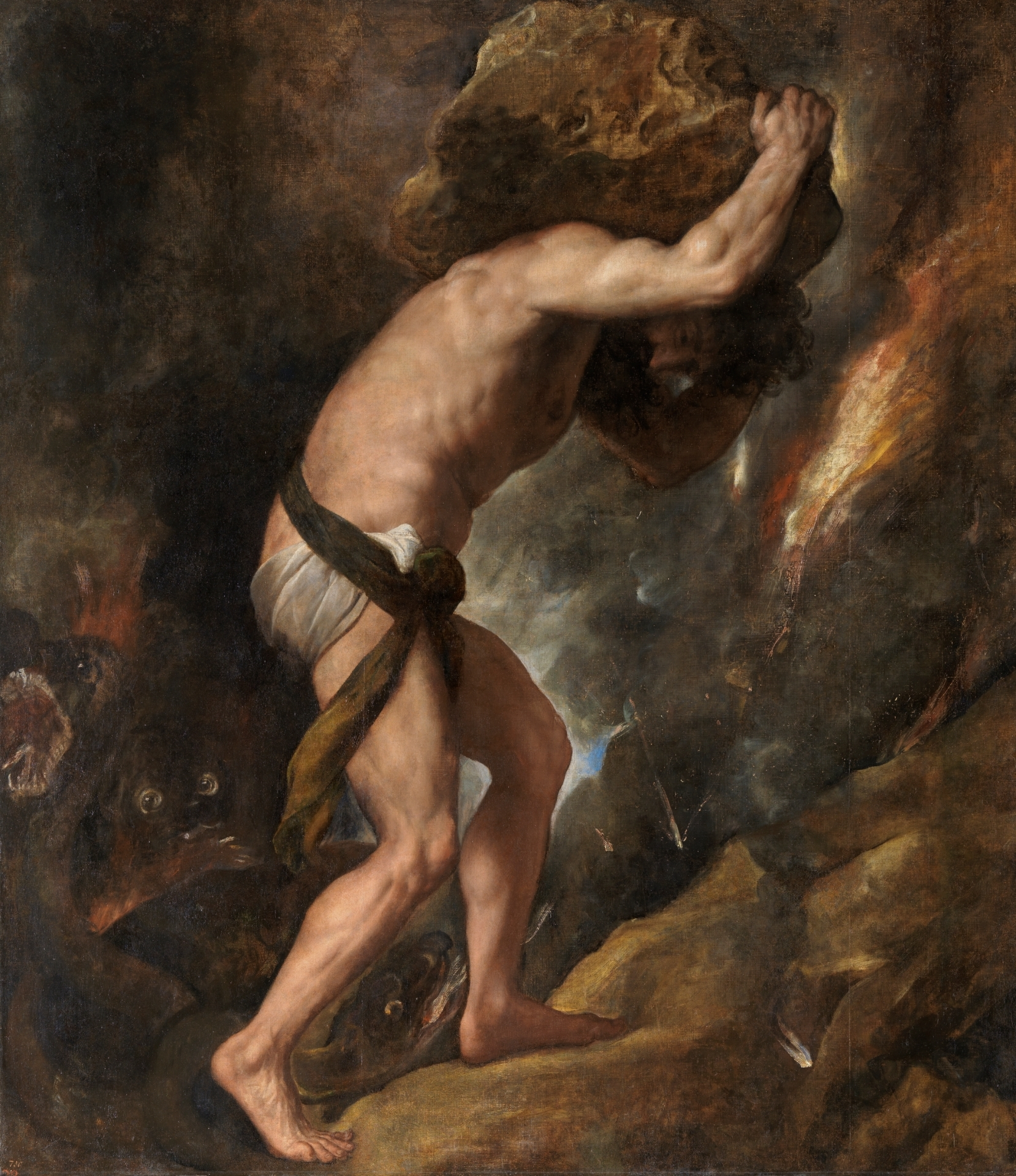 Sisif, Muzeul Del Prado