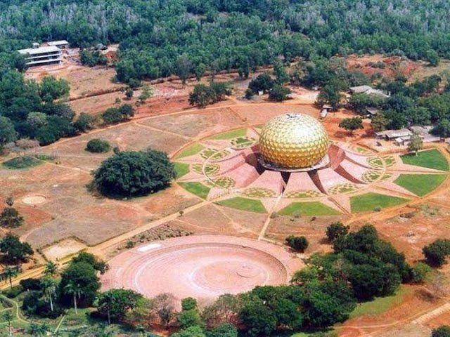 Aurobindo, Orasul Zorilor, India