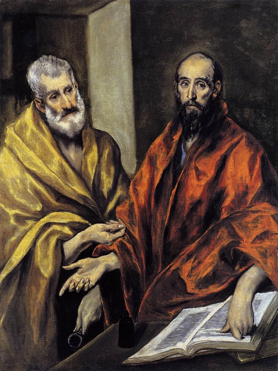 El Greco, Petru si Pavel