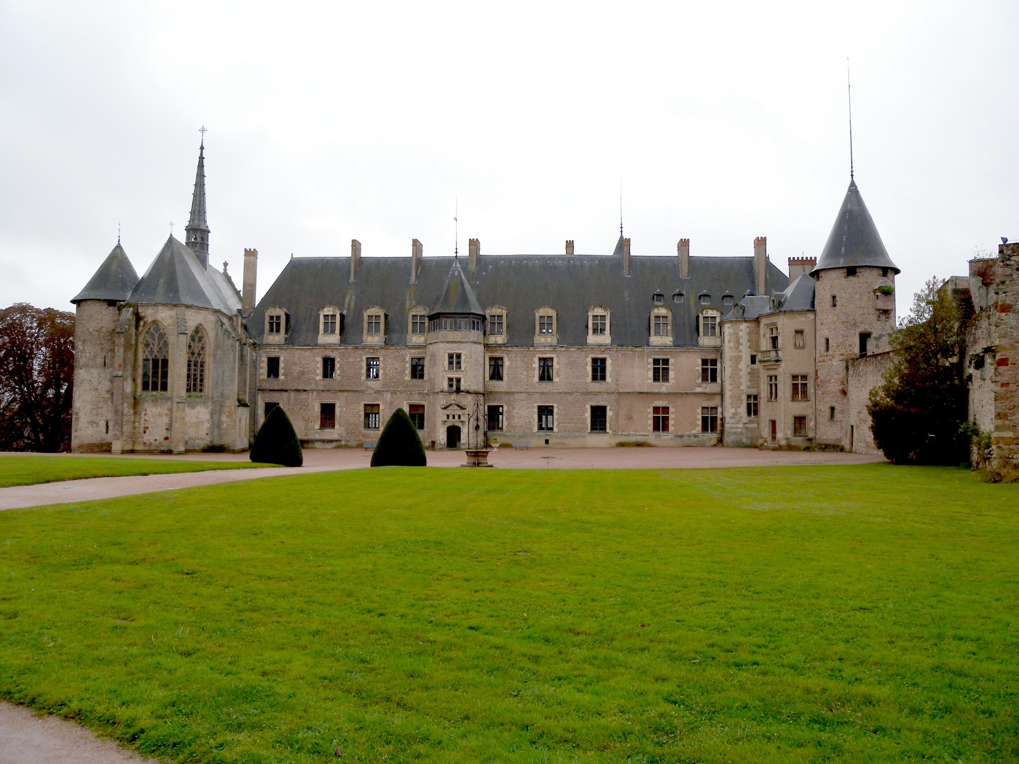 Lapalisadă, un adevăr à la Palice, Castelul Lapalisse