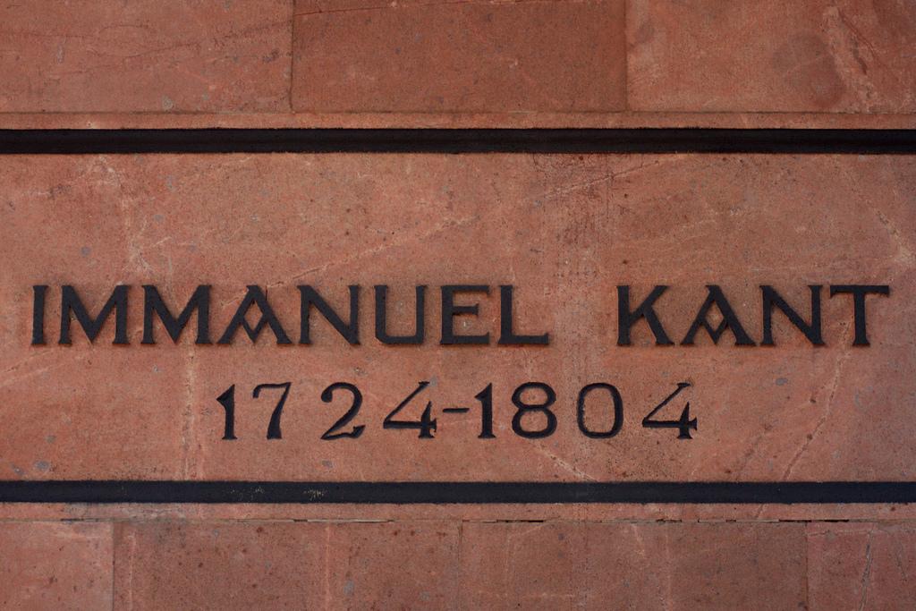 A priori si A posteriori, Immanuel Kant