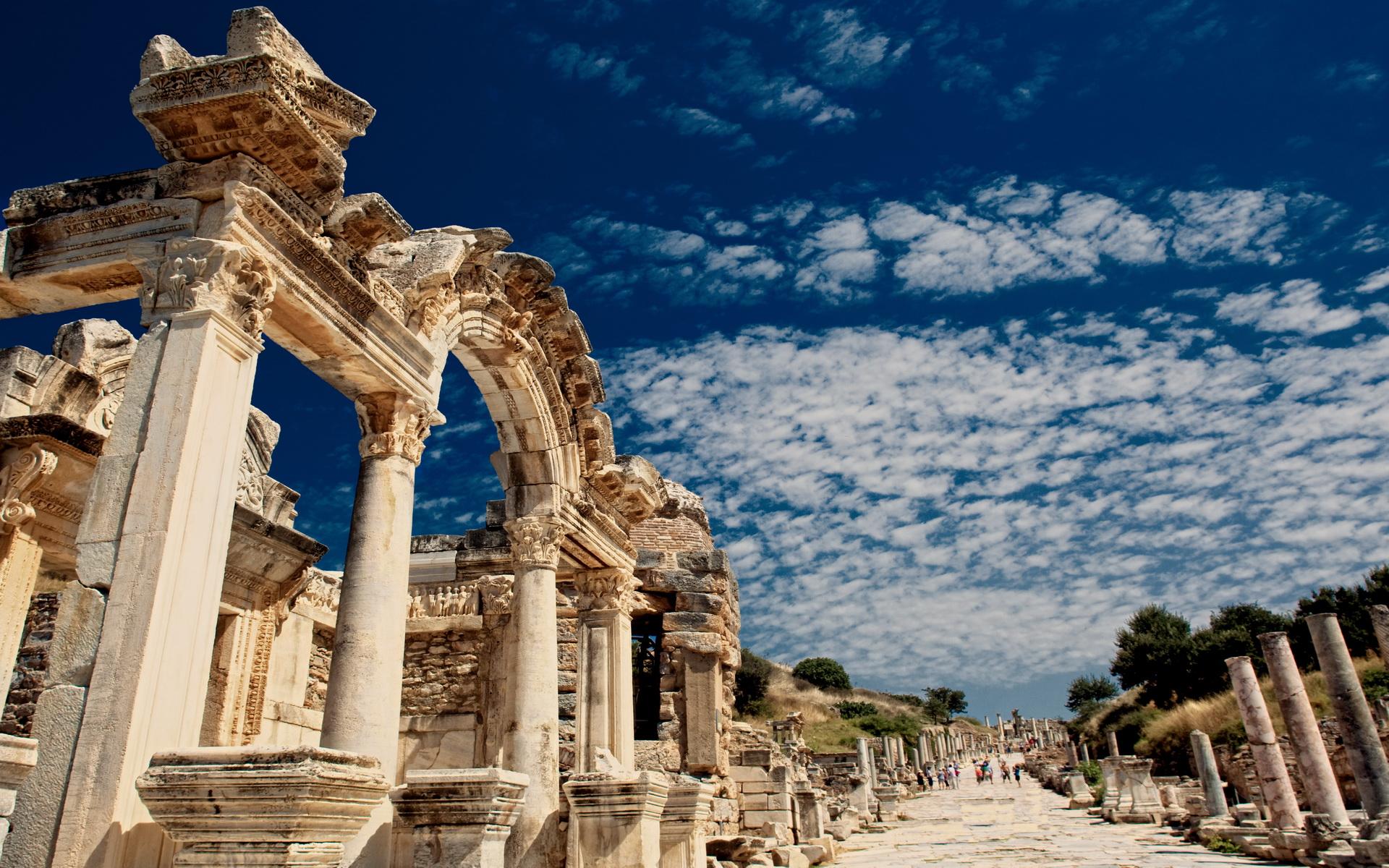 Faimă de Erostrat, Templul din Efes