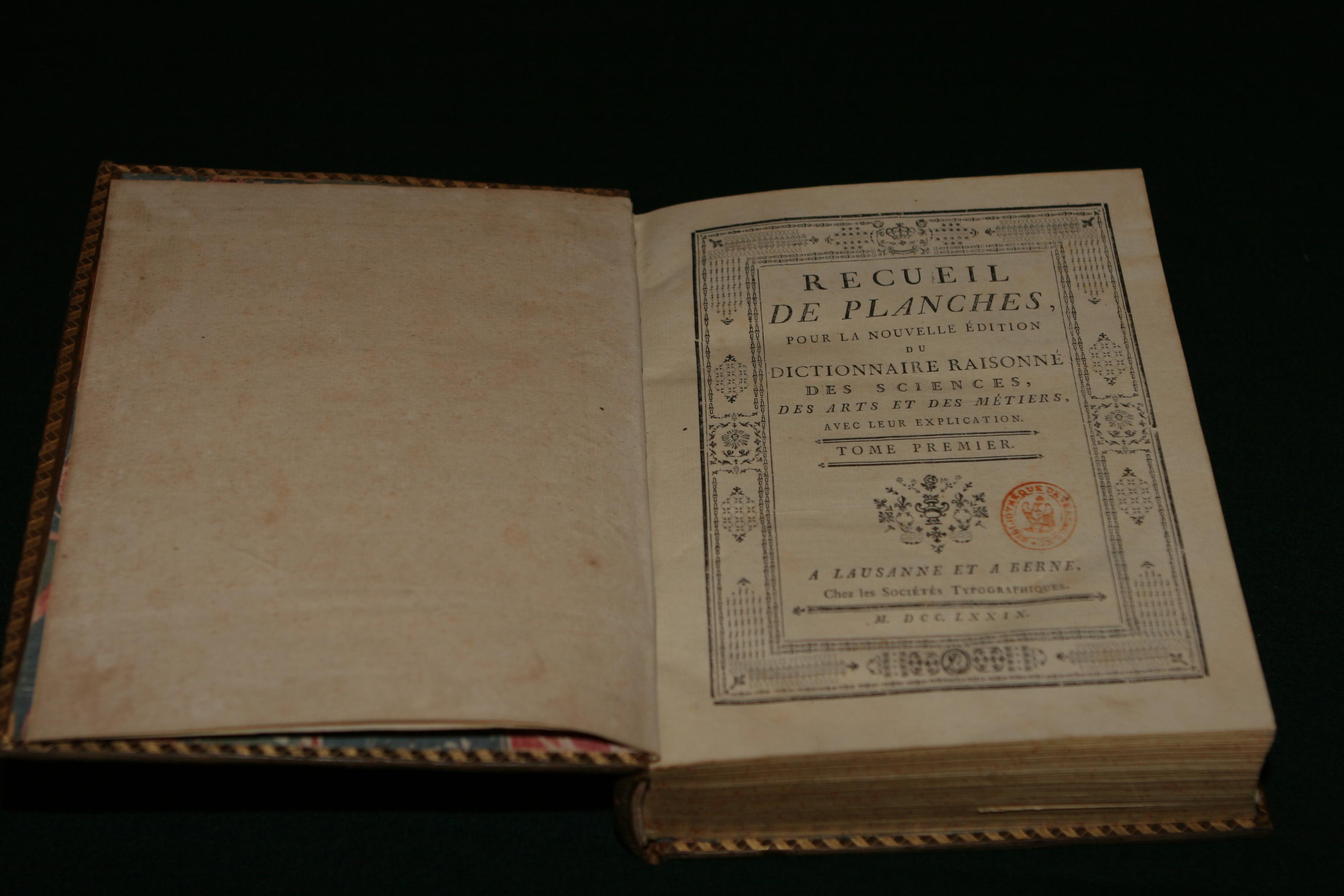 Iluminismul, Enciclopedia sau Dicţionarul sistematic al ştiinţelor, al artelor şi meseriilor