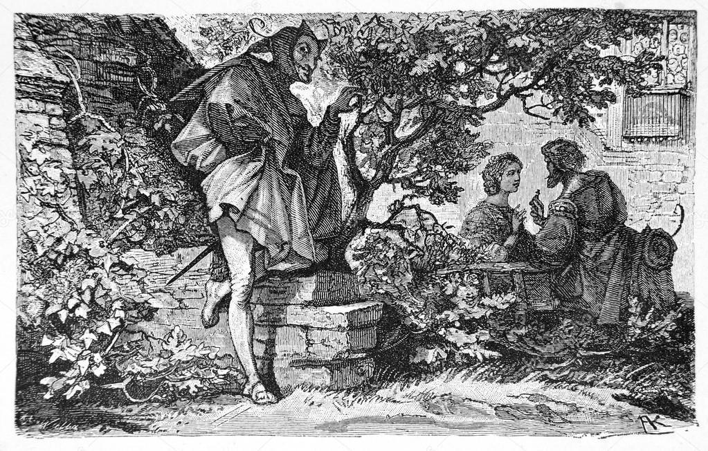 Râs homeric şi Râs mefistofelic, Goethe, Mephisto