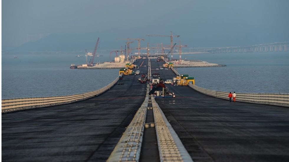 Cel mai lung pod maritim din lume, Hong Kong, Macao, Zhuhai
