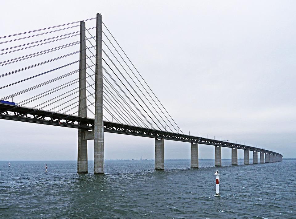 Podul Öresund, Danemarca