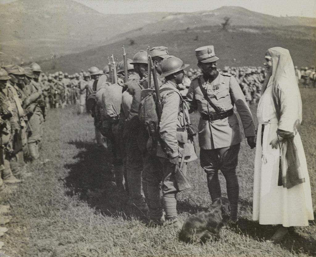 Centenarul Marii Uniri, Regele Ferdinand si Regina Maria, 1917