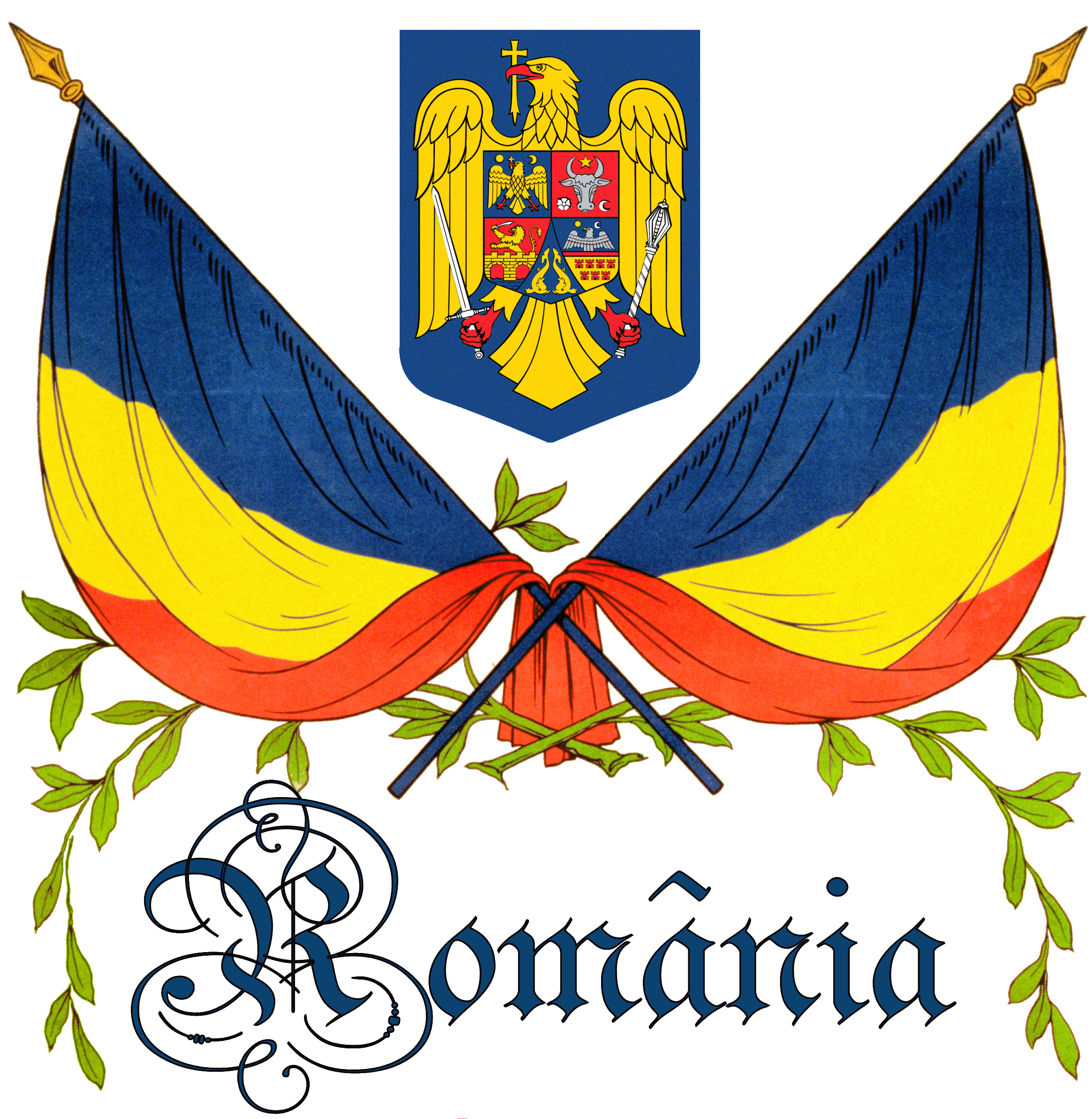 Centenarul Marii Uniri, simbolurile Romaniei