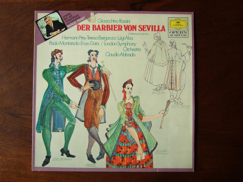 Calomniaţi, calomniaţi, ceva tot va rămâne, Rossini, Barbierul din Sevilla