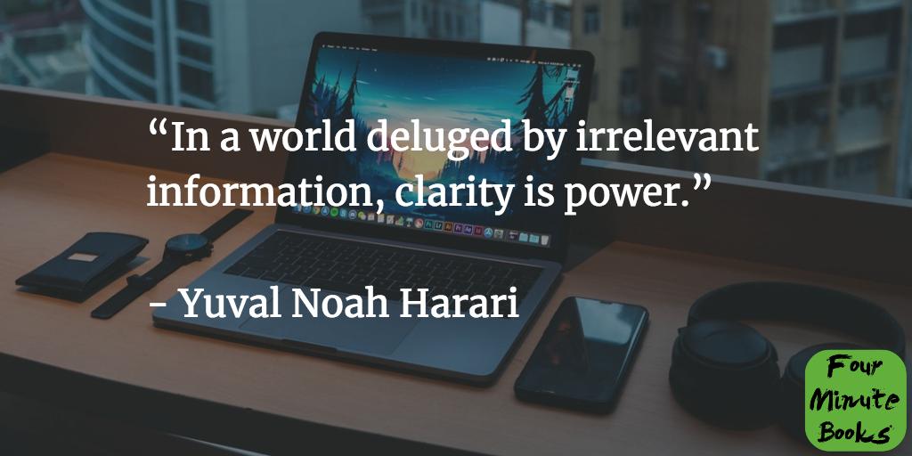 Homo deus, Scurtă istorie a viitorului cu Yuval Noah Harari